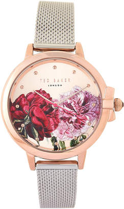 Ted Baker TE50641005 Rose Gold-Tone & Silver Ruth Watch