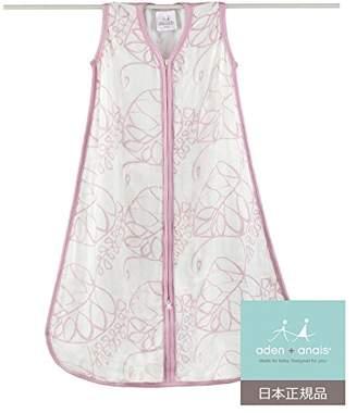 Aden Anais (エイデン アネイ) - aden + anais (エイデンアンドアネイ) 【日本正規品】 シルキーソフト スリーピング バッグ (スリーパー) (トランクィリティー・リーフィ) silky soft sleeping bag (tranquility leafy) (S) 9230