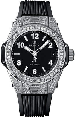 Hublot 465.SX.1170.RX.1604 Big Bang Stainless Steel Diamond Case Watch