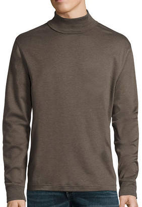 ST. JOHN'S BAY Long-Sleeve Legacy Interlock Turtleneck