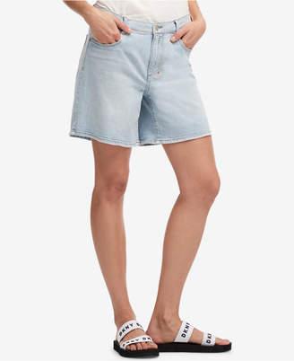 DKNY (ディー ケー エヌワイ) - Dkny Light Wash Denim Shorts, Created for Macy's