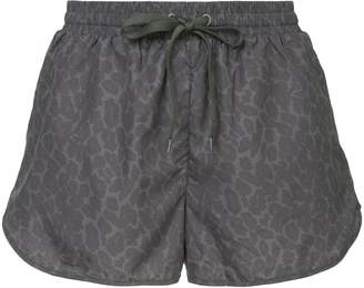 The Upside leopard-print shorts