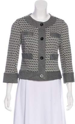 Diane von Furstenberg Gabrielle Button-Up Cardigan