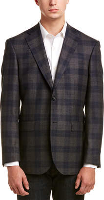 Zanetti Napoli Modern Fit Wool Jacket