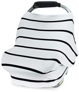 CARSEAT CANOPY Stripe Canopy Stretch Car Seat Cover