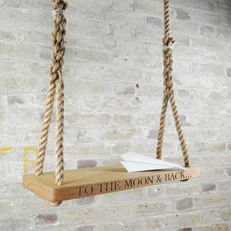 The Oak & Rope Company To The Moon And Back Swing