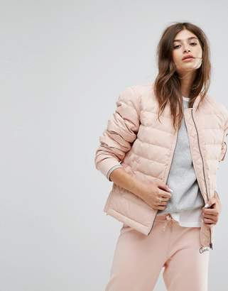 Converse Padded Jacket In Pink