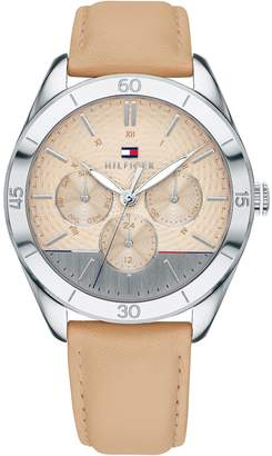 Tommy Hilfiger Watch With Leather Band