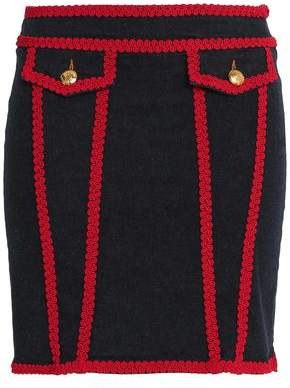 Love Moschino Denim Mini Skirt