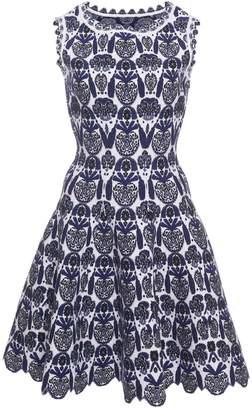 Alaia Scallop Floral Dress
