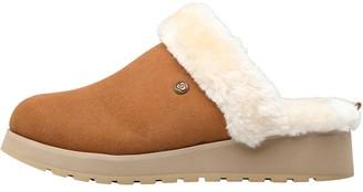 Skechers Womens Keepsakes High Snow Magic Slippers Chestnut