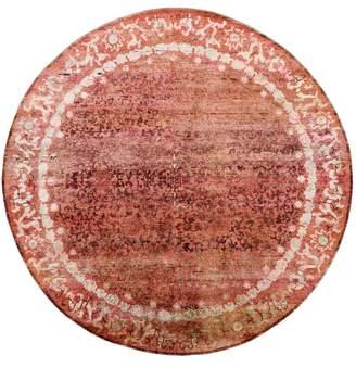 "Ethos Silk Round Rug - 8'11""x9'"