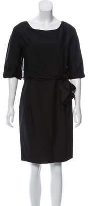 3.1 Phillip Lim Wool & Silk Dress Black Wool & Silk Dress