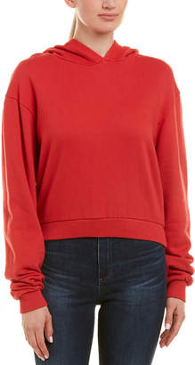 Drifter French Terry Cropped Hoodie