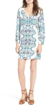 Women's Ella Moss Lover Tapestry Shift Dress $198 thestylecure.com