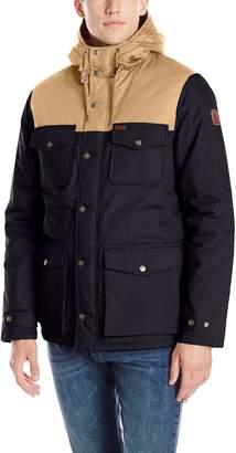 Element Men's Wolfeboro Hemlock 2 Tones Colorblock Hooded Zip Jacket