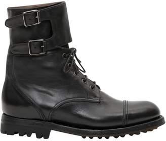 Silvano Sassetti Combat Boots