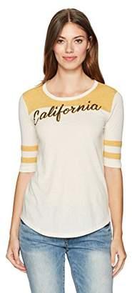 Lucky Brand Women's California Football Tee