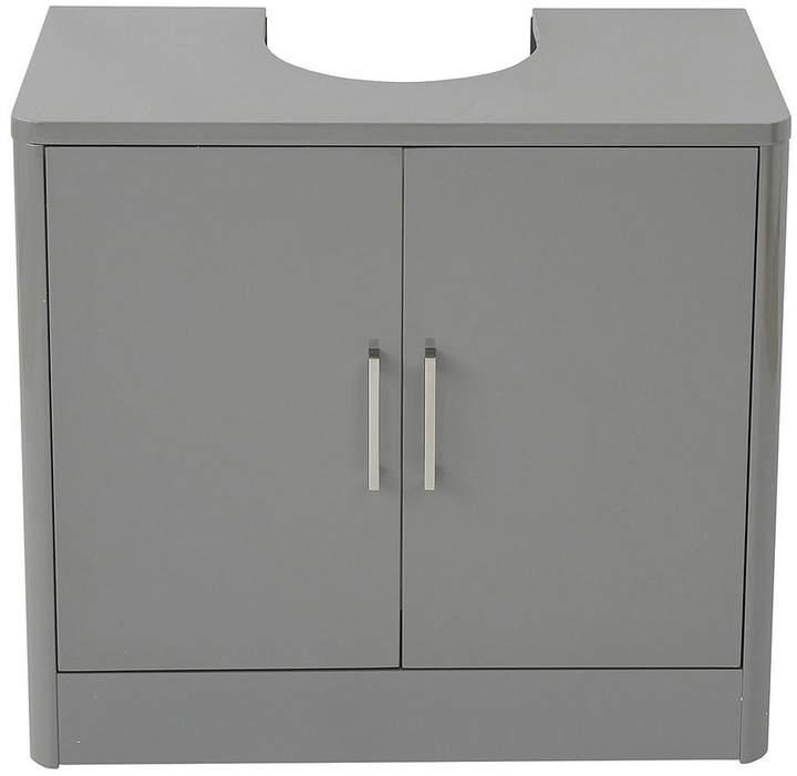 Luna Under Basin Storage Unit - Grey