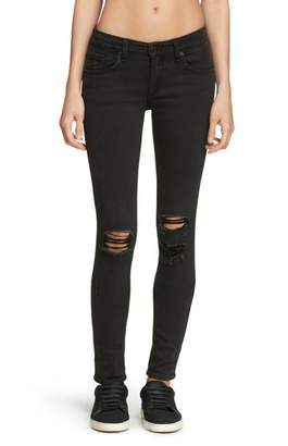 Rag & Bone Skinny In Soft Rock Denim
