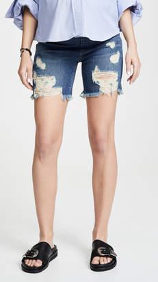 James Jeans Cindy Maternity Denim Shorts
