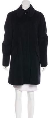 Armani Collezioni Angora-Blend Coat