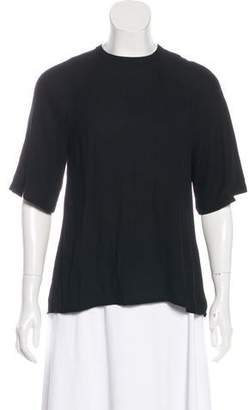 A.L.C. Open-Back Blouse