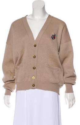 Aquascutum London Button-Up Wool Cardigan