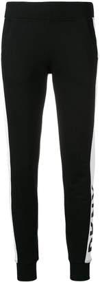 DKNY logo stripe leggings