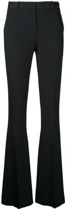 Capucci flared fitted trousers
