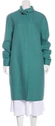 Narciso Rodriguez Wool-Blend Long Coat