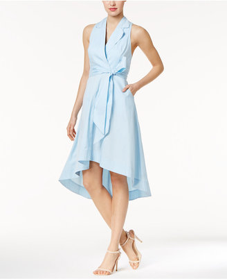 Marled High-Low Wrap Dress $70 thestylecure.com