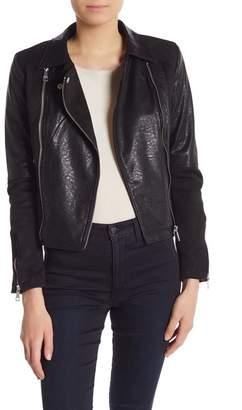 Vigoss Faux Suede Leather Jacket
