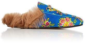 Gucci Women's Princetown Corduroy Slippers