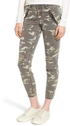 KUT from the Kloth Connie Ankle Skinny Camo Jeans