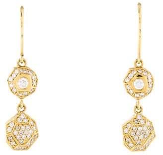 Ron Hami 18K Diamond Drop Earrings yellow 18K Diamond Drop Earrings