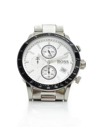 HUGO BOSS Watches Rafale Stainless Steel Silver Dial Watch
