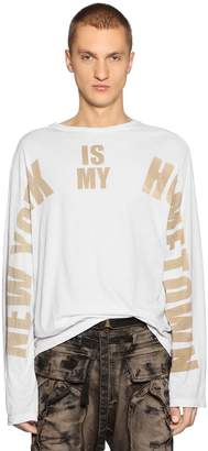 Faith Connexion My Hometown Jersey Long Sleeve T-Shirt