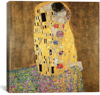 LIBRARY icanvasart The Kiss By Bridgeman