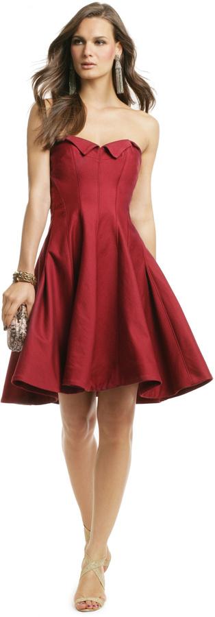 Z Spoke Zac Posen Grand Scheme Dress