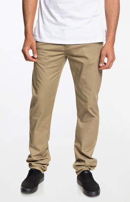 Quiksilver New Everyday Union Tan Chino Pants