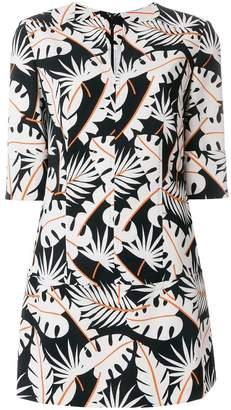 Talbot Runhof jungle print tunic