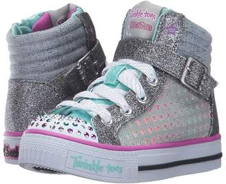 Skechers Twinkle Toes - Shuffles 10812L Lights Girl's Shoes