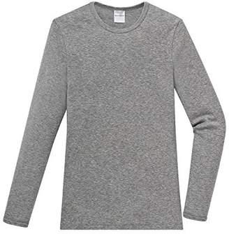 Schiesser Boys' Vest Grey Grau (202 grau mel.) (Brand size : 10-11Y)