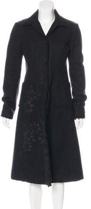 Philosophy di Alberta Ferretti Wool Long Coat