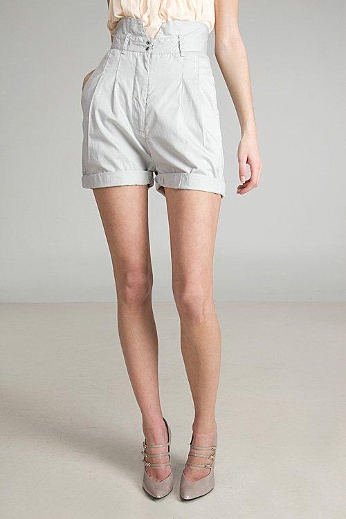 Cheap Monday Silver Half Shorts