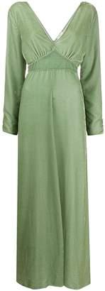 Forte Forte velvet empire-line dress