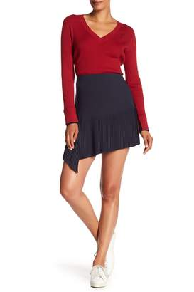 Jason Wu Grey Pleated Mini Skirt