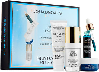 SUNDAY RILEY #SquadGoals Skincare Essentials Kit $90 thestylecure.com