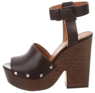 Givenchy Sofia Platform Sandals w/ Tags